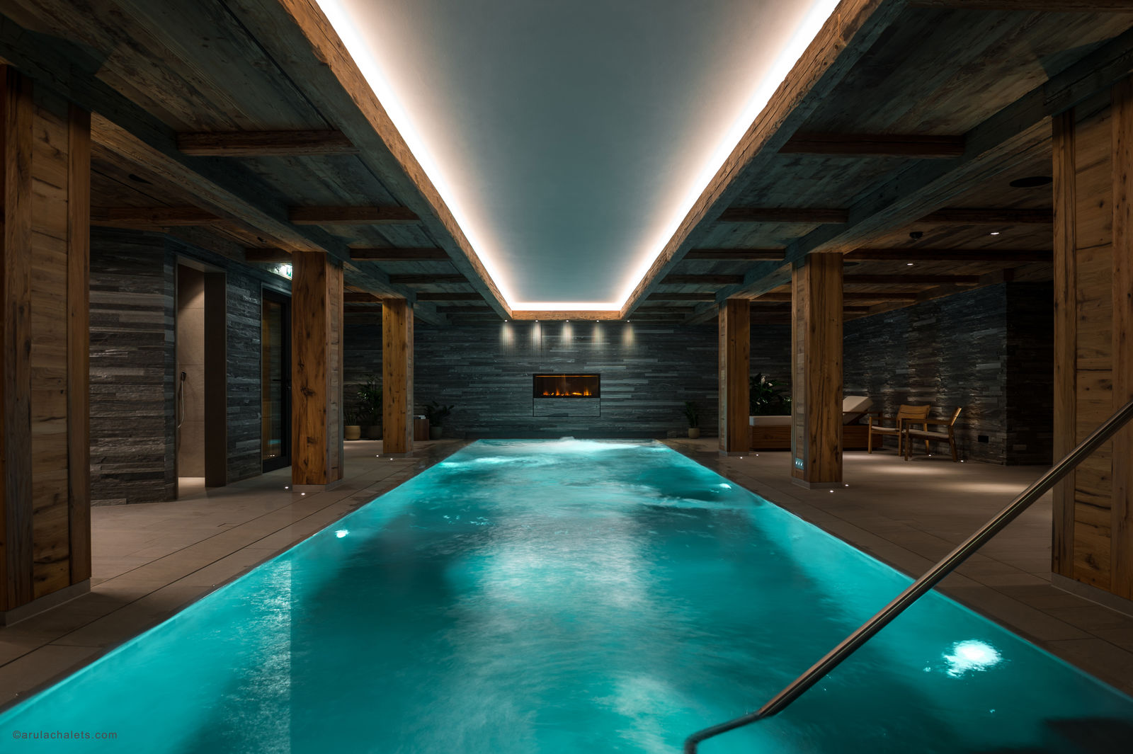 The Arula Chalets - Oberlech am Arlberg, LED Profile, indirekte Beleuchtung waterproof