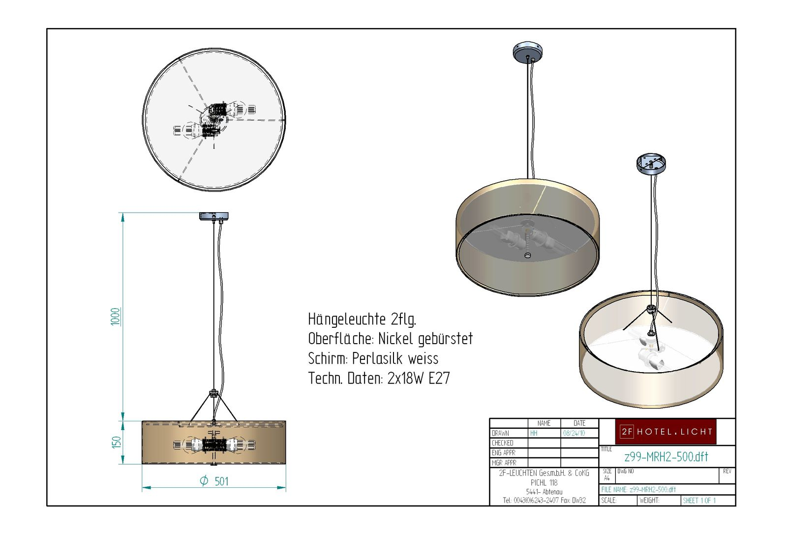 pendant lamp MARY 2 flg. Ø358mm, h=100mm, Techn.Details: inkl.EVG G24q,energy-saving bulb 10W
